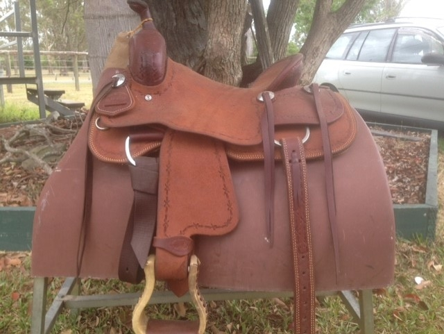 SRS Child/Youth Cutting/Ranch Saddle