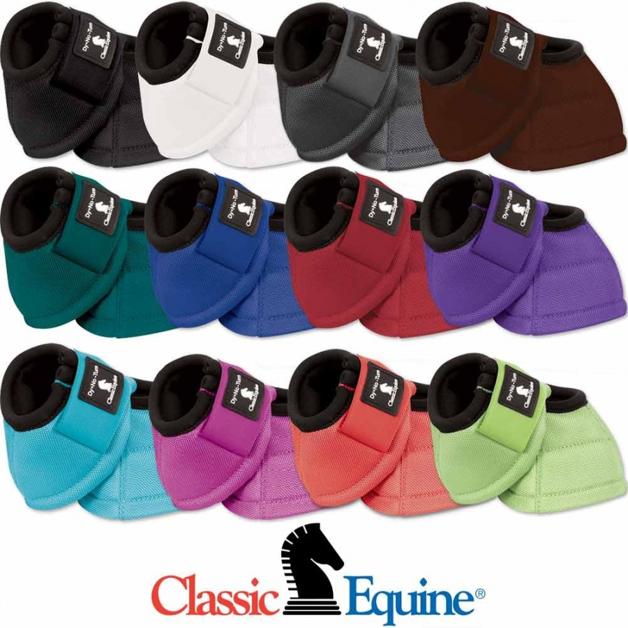 Classic Equine DynoTurn Bell Boots - Various colours / sizes