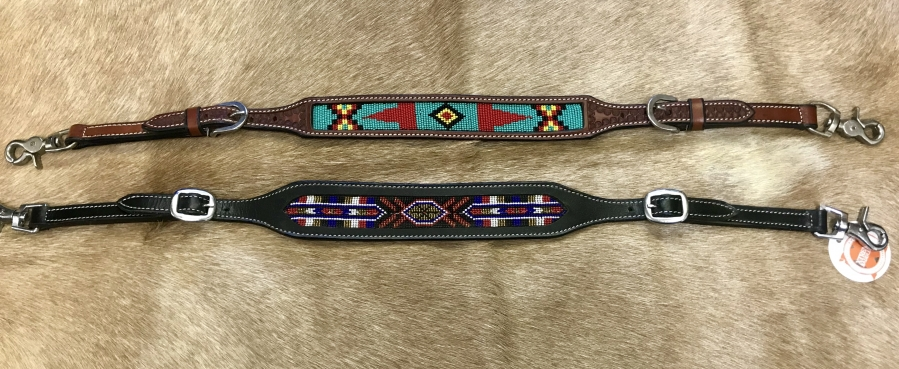 Beaded Wither Straps