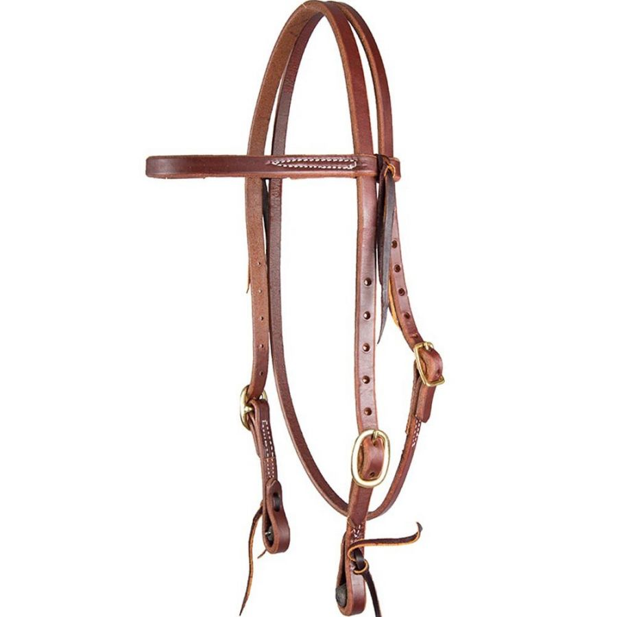 Pre-Oiled Herman Oak Bridle - Lace ends