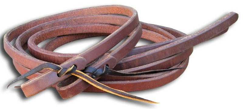 Pre-Oiled Split Reins - 3/4in