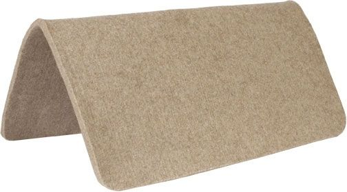 Wool Felt Pad - 1/2in - Brown,Tan ,Grey