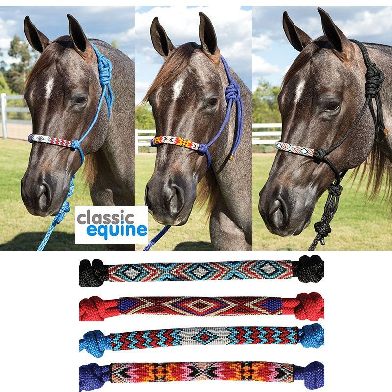 Professionals's Choice Beaded Rope Halters & Leads